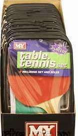 New Table Tennis Set Bats Balls Net with Clamps