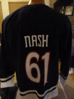 NHL Columbus Blue Jackets Rick Nash Mens Hockey Jersey NWT XL
