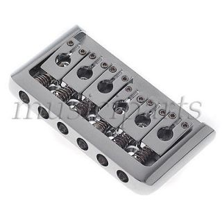 High Quality chrome Hardtail Fixed Bridge for Electric Guitar Guitar