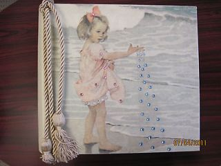 Brand New Terra Traditions Baby album, Baby Pink with Crystals