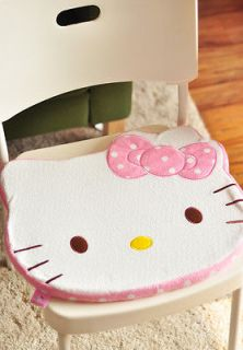 Hello Kitty Pink & Red Thick Square Chair Car Seat Cushions for girls