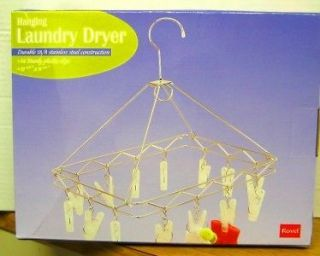 LAUNDRY CLOTHES DRYING RACK  18/8 STAINLESS STEEL   NEW