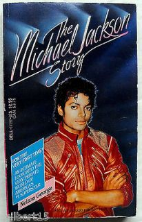 The Michael Jackson Story Nelson George Rock n Roll Biography 1984