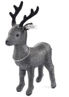 Steiff Selection 025969 Enchanted Forest Graphite Deer Limited Edition