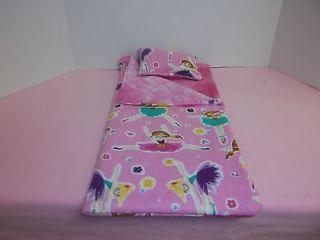 Newly listed American Girl Doll Pink Ballerina Sleeping Bag & Pillow