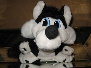 ACME ACE Black & White (BAD WOLF) 10 Stuffed PLuSH DOLL  LOONEY TUNES