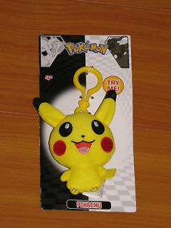 Pikachu backpack/tote bag/clothes Moves and Shakes Clip by Jakks