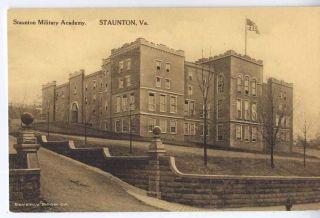 1930 STAUNTON VA Staunton Military Academy SMA Beverly