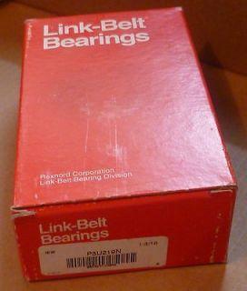 Link Belt P3U219N Ball Bearing Pillow Block, 2 Bolt Hole,1 3/16 Bore
