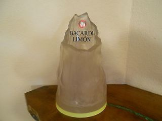 Rum Limon Figural Glacier Bottle Holder Ice Bucket Cooler Barware