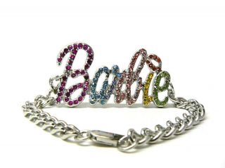 NICKI MINAJ STYLE BARBIE HIGH QUALITY CHAIN BRACELET 6 COLOR   MB10