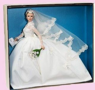 Brand new Barbie Princess Grace Kelly Bride in Silkstone (New Arrival)