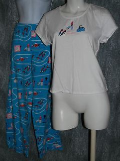 JOE BOXER WOMENS PJs 2 PIECE 100% COTTON Sz L (2241)