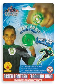 Childs The Green Lantern Ring Halloween Costume Prop