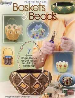 Baskets & Beads Tulip Indian Plastic Canvas Patterns NEW  30 Days To