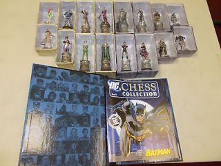 DC CHESS SET, Figures 1 16, Batman, Joker, Catwoman, many more