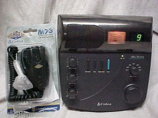 Used Base CB Radio 40 Channel Cobra 93 LTD WX Base Station Weather