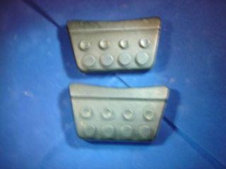 Mopar 62 63 64 65 Sport Fury clutch brake pedal pads (Fits Barracuda)