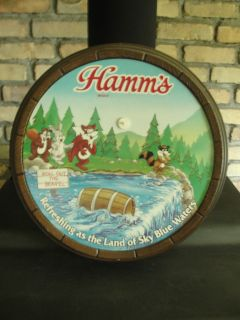 Hamms Beer, Roll OUt the Bearel, Sky Blue Waters, faux barrel adv