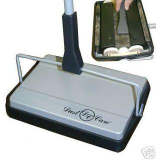 Dust Care Cordless Bare Hard Floor & Carpet Sweeper Cleaner Vacuum