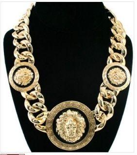 WIVES NICKI MINAJ Celebrity Style LION HEAD NECKLACE Rihanna
