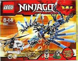 Limited Edition Lego Ninjago 2521, Lightning Dragon Battle with
