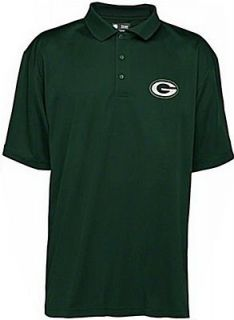 Green Bay Packers NFL Team Apparel Embroidered Logo Polo Golf Shirt