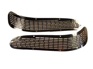 Skiers Choice / Supra / Moomba Boats Stainless Steel Transom Vents