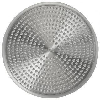 OXO GOOD GRIPS STAINLESS STEEL SHOWER STALL DRAIN PROTECTOR COVER HAIR