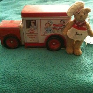 Campbells Soup Collectible Truck Tin With Campbell Soup Chef Bear