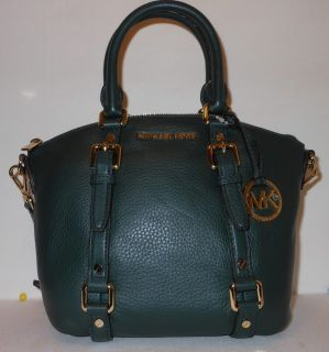 Michael Kors Handbag, Bedford Small Satchel Hunter Green
