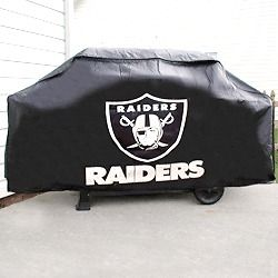 Oakland Raiders Deluxe Heavy Duty Barbeque BBQ Grill Cover NFL