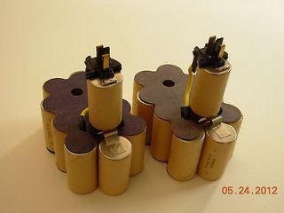 DW9091 XR 14.4 Volt 2.2 Amp Hour NiCd Pod Style Battery Rebuild kit 2