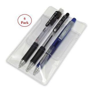 Baumgartens Shirt Pocket Protectors   for pens   pack of 6