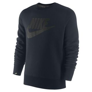 502640 473] Mens Nike Air Fleece Crewneck Sweat Shirt Obsidian Navy