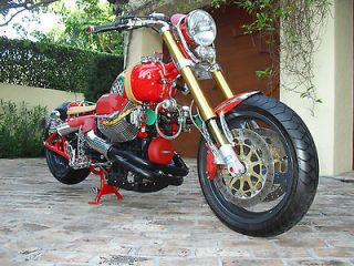 Custom Built Motorcycles  Bobber Moto Guzzi,Custom,Bobber,Race,Drag