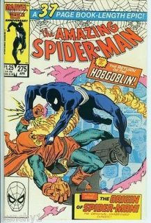 AMAZING SPIDER MAN 275 HOBGOBLIN Reprint Amazing Fantasy 15 Origin (VF