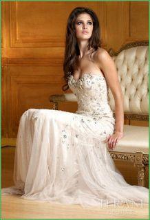 Beach Wedding Dress Bridesmaid Dress Wedding Gown Prom Size Custom
