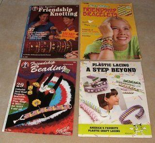 Kids Crafts Friendship Beading Plastic Lacing Bracelet
