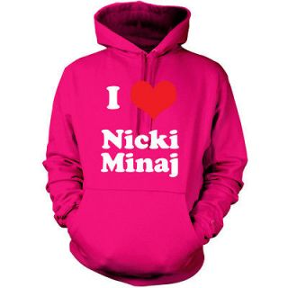 love Nicki Minaj Unisex Hoodie / Hooded top / tour gift   9 Colours