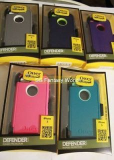 OTTERBOX Defender Series Case Cover For iPhone 5 5G with Belt Clip