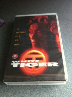 Gary Daniels Matt Craven WHITE TIGER rare 1995 Drug Dealer Thriller