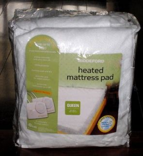 TWIN heated electric mattress pad   stay out of the cold