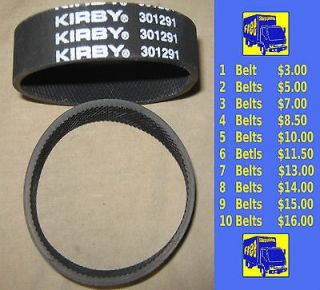 Genuine Kirby Vacuum Cleaner Knurled Belts 301291 Fit All Generation