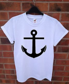 ANCHOR SAILOR OBEY BOAT SWAG HIPSTER URBAN HIP HOP T SHIRT MEN/LADIES