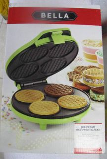 ICE CREAM SANDWICH MAKER OR ICE CREAM CONE MAKER