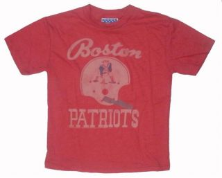New Authentic Junk Food NFL Boston Patriots Boys T Shirt New England