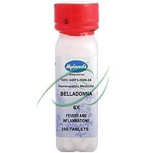 belladonna in Dietary Supplements, Nutrition