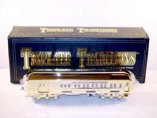 MTH TINPLATE AMERICAN FLYER A.C. GILBERT GOLD MILLENIUM OBS CAR 10