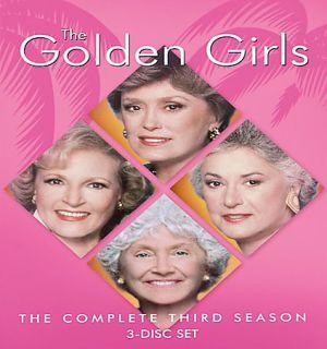 he Golden Girls   he Complee hird Season (DVD, 2005, 3 Disc Se)